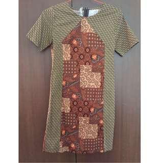 Stretch Batik Dress