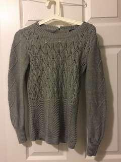Banana republic knit grey sweater