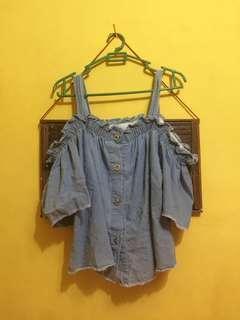 Sabrina jeans crop