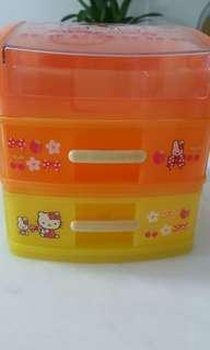 Hello kitty plastic drawer