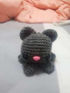 Stuffed Octo Cat Crochet Plush Amigurumi Toy