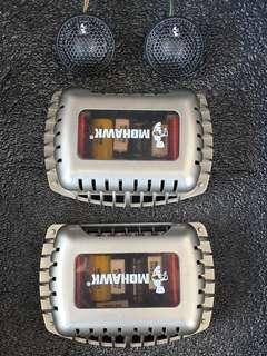 Mohawk Crystal Series crossover and tweeters
