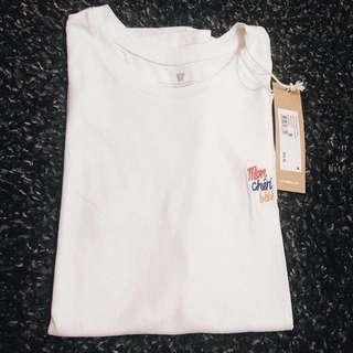 Cotton On TBar Plain White Shirt