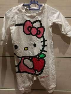Hello Kitty Pyjamas saiz xs (6-9months)