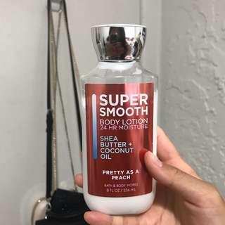 BBW full sized lotion