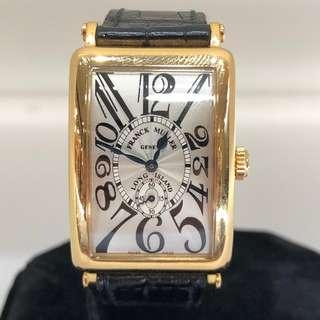 Frank Muller Long Island Ladies Yellow Gold Manual Wind