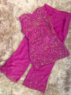 PINK punjabi suit (two piece)