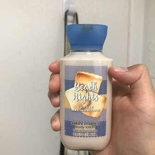 BBW travel sized lotion