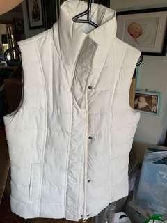 White Winter Vest