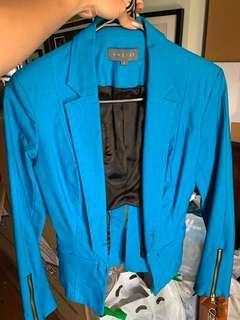 Sheike Blue Blazer Jacket