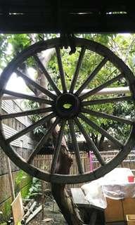 Roda delman vintage.antik.