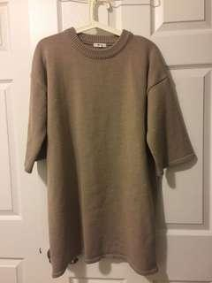 Oak & fort oversized sweater dress