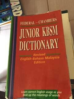 Junior KBSM Dictionary