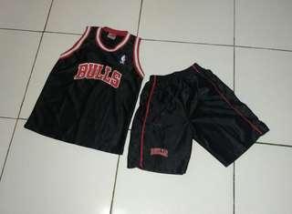 Set baju basket anak / baju santai / baju main