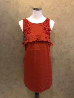 Zalora Embroidery Mini Dress
