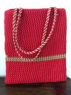 🚚 Woven Bag handmade
