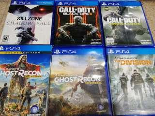 PS4 Games Listing