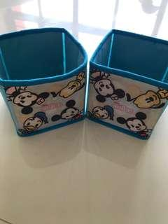 *Give Away!* Preloved Disney Cloth Boxes