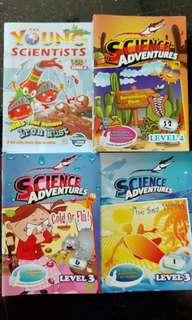 Young Scientists and Science Adventure Magazine Books