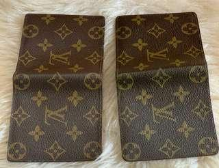 Louis vuitton short wallet nomo preloved