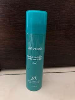 JMsolution海洋珍珠防曬噴霧 #一百均價