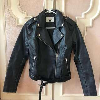 TERRANOVA - Leather Jacket - S
