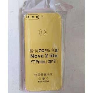 Huawei Nova 2 lite / Y2 Prime Soft Transparent Cover