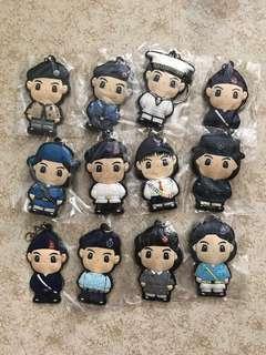香港制服團隊匙扣 Uniform Groups of HK