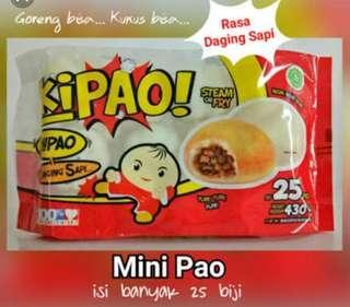 Kipao bapao mini rasa daging sapi