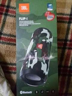 Jbl flip 4 (camouflage) 95% new