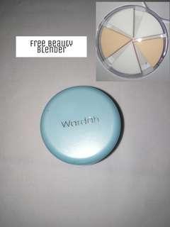 Wardah fondation full cover light beige