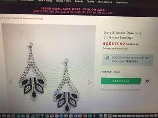 Gorgeous earrings brand new