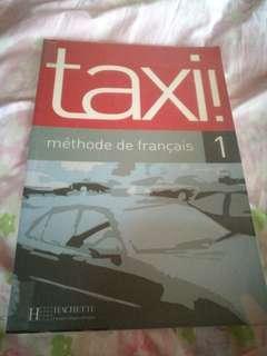 法文學習 taxi 1 (edition 2002)只有幾頁寫過嘢,賣$50