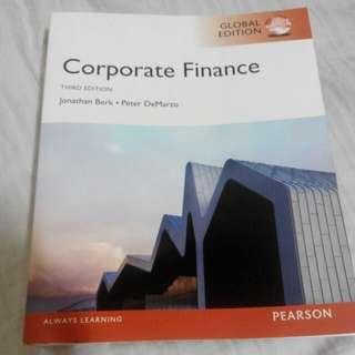 Corporate Finance Textbook Third Edition
