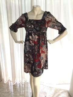 Bludru Dress