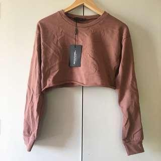plt cropped sweater size 4