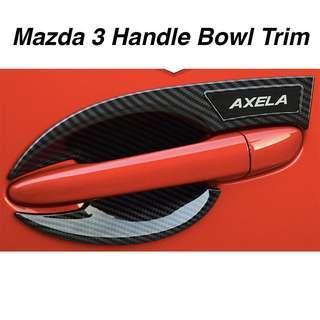 Mazda 3 Door Handle Bowl Trim (4pcs)- AXELA