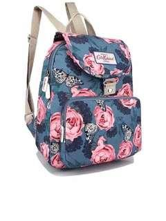 Fashion floral bagpack