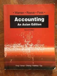 Accounting An Asian Edition 2nd edition