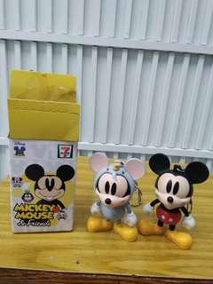 七仔mickey mouse & friends匙扣