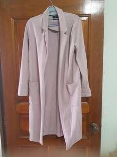Bersaka pink outerwear