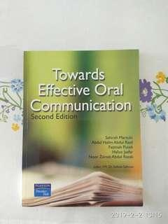 Effective oral communication