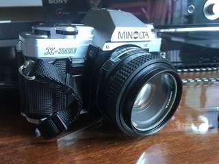 Minolta X300 with 50mm 2.0