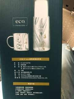 🚚 Eco 耐熱玻璃壺杯組