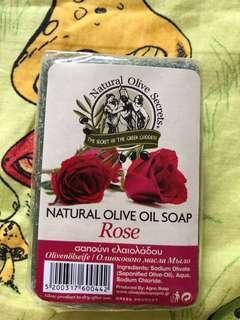 手工皂 天然玫瑰橄欖油 natural olive oil soap rose Greek