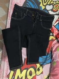 Black Lee Pants