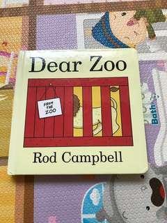 🚚 童書 翻翻書zoo英文版 厚紙板款 小孩很愛翻