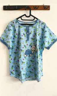 #CNY2019 Turtle Pajama Top