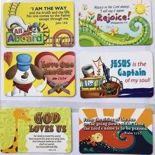 Christian verses - card prints
