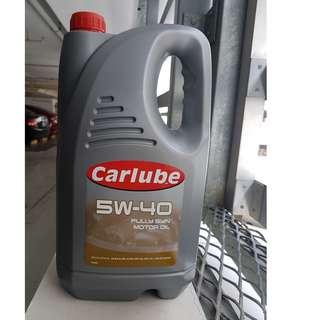 Carlube 5w40 Fully Synth 5L currently on Promotion @ NTUC Warehouse Club